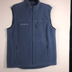 Patagonia men's zip up vest,